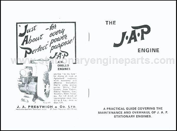 JAP Engine Books