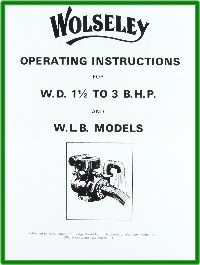 Wolseley Engine Books &amp; Transfers