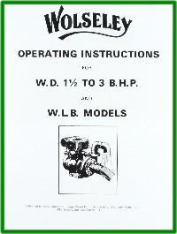 Wolseley Engine Books & Transfers