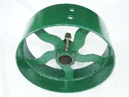 "Flat Belt Pulleys 1.5"" Bore"