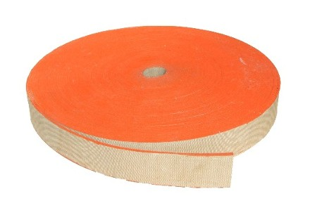 "2.5"" Wide 3ply 4.5mm Thick Balata Flat Belting"