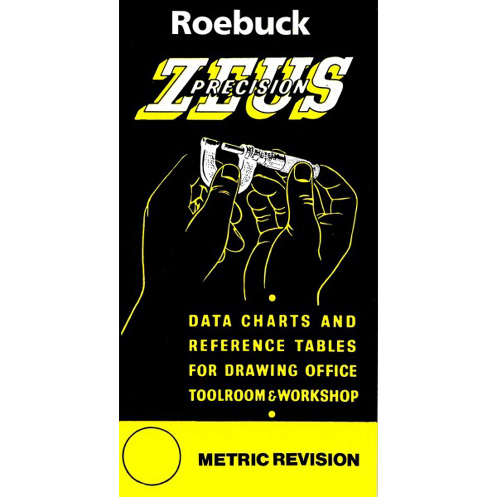 Zeus Precision Data Charts  U0026 Reference Tables    Tools