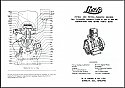 Lister A, AK, B & BK Instruction Book