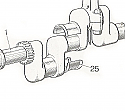 Crankshaft Centre Main Bearing Standard