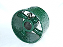 8 Inch Flat Belt Pulley By 2 Inch Mounting
