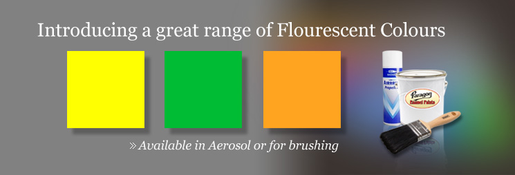 Introducing a great range of flourescent colours