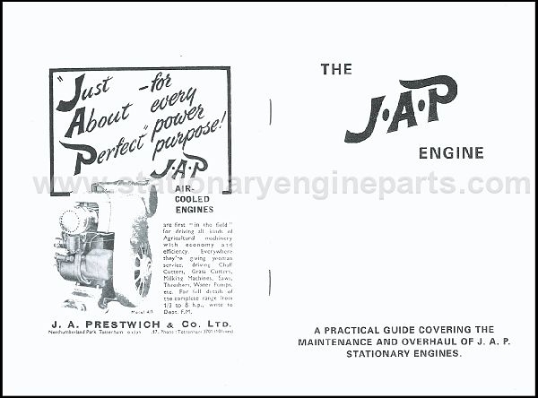 JAP Engine Books