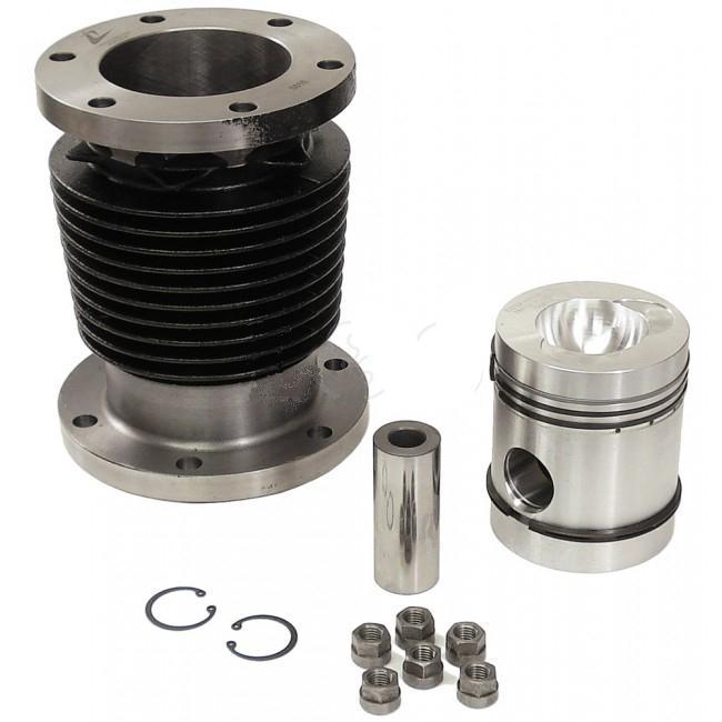 Cylinder, Piston, Rings & Bearings