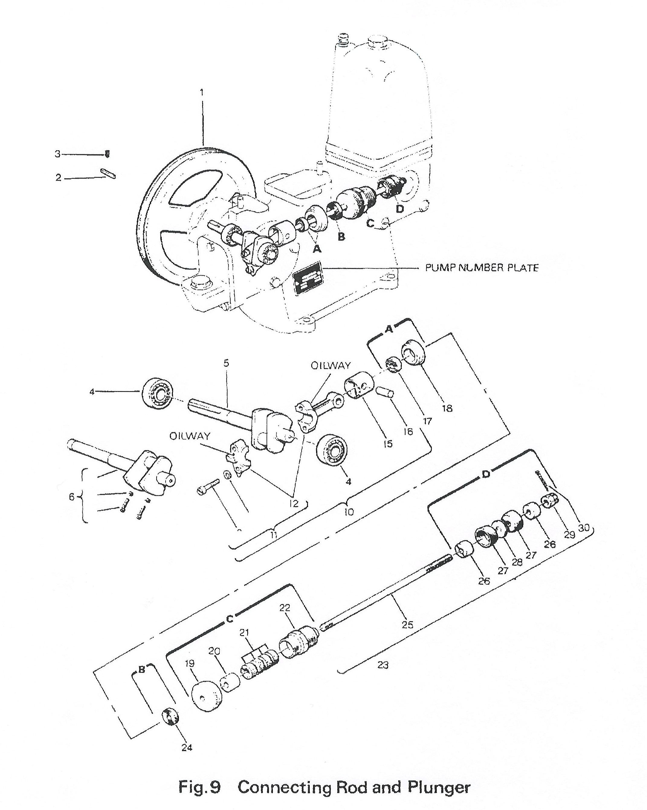 lister domestic water pump spares water pumps \u0026 spares Ford Engine Diagram lister domestic water pump figure 9